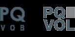 PQVOB und PQVOL Logos