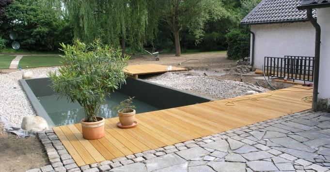 Holz im Garten - Schröer Garten