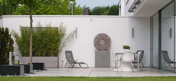 Schröer Garten- und Landschaftsbau gestaltet private Gärten.