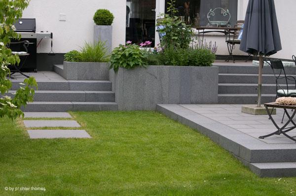 Stein im Garten Schröer Garten