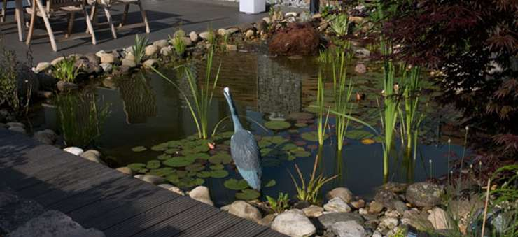 Bei Schröer Garten- und Landschaftsbau wird Regenwassernutzung und Versickerung hoch geschrieben.